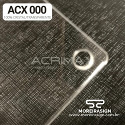 ACRILICO ACX 000 1X1X 1MM...