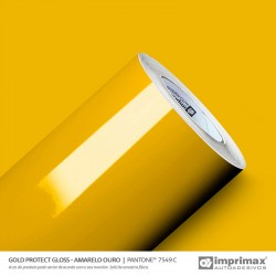 FILM PROTECT GLOSS AMARELO...